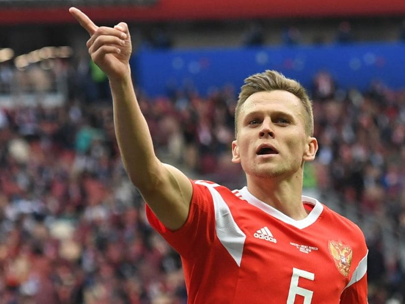 World Cup: Denis Cheryshev Stars As Russia Rout Saudi Arabia In Tournament Opener