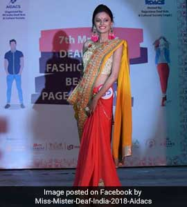 Miss India Deaf 2018 Deshna Jain To Compete At Pageant in Taiwan 0803ecadb