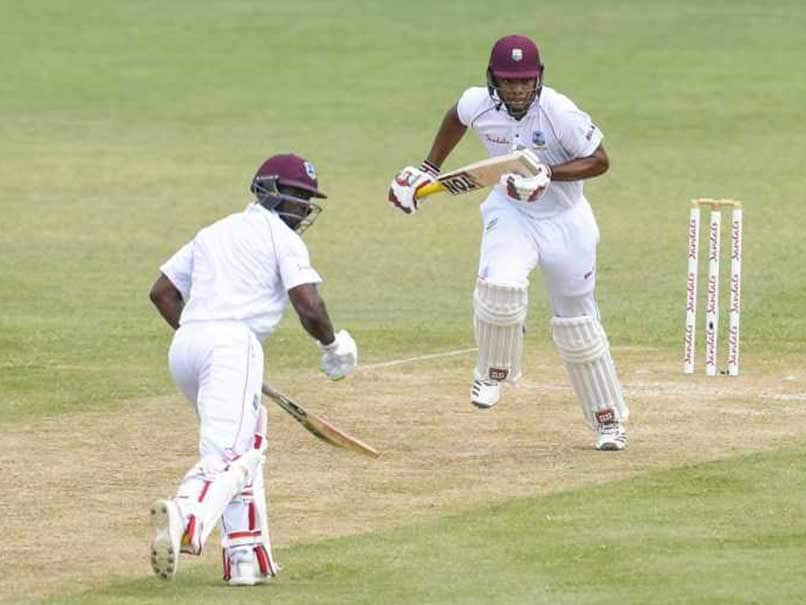 2nd Test Day 2 Devon Smith Battles For Windies On Soggy Slow Day