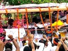 """""""BJP Made Atal Bihari Vajpayee Look Small"""": Sena On Immersion Of Ashes"""