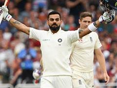 India vs England: Virat Kohli, Anushka Sharma Exchange Flying Kisses After Indian Captain Smashes Century. Watch