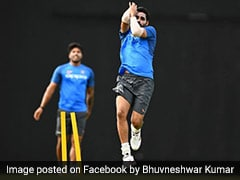 Bhuvneshwar Kumar Bowls 'No Ball' At Nets, Gets Trolled