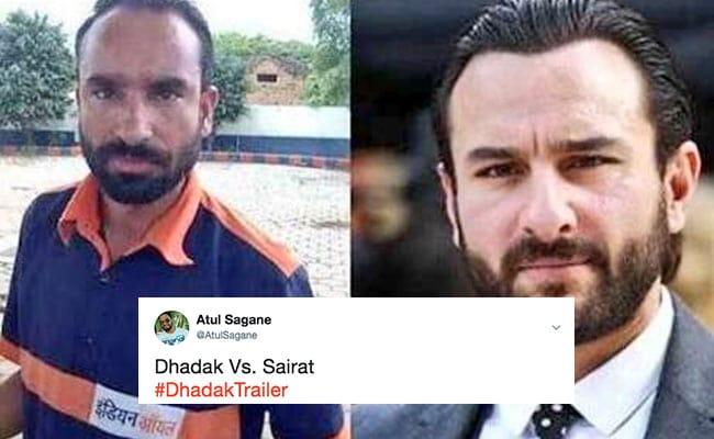Sairat Vs Dhadak Memes Take Over Internet