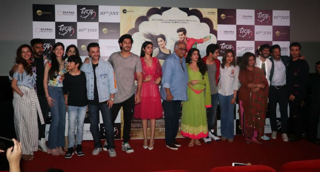 dhadak trailer launch ndtv