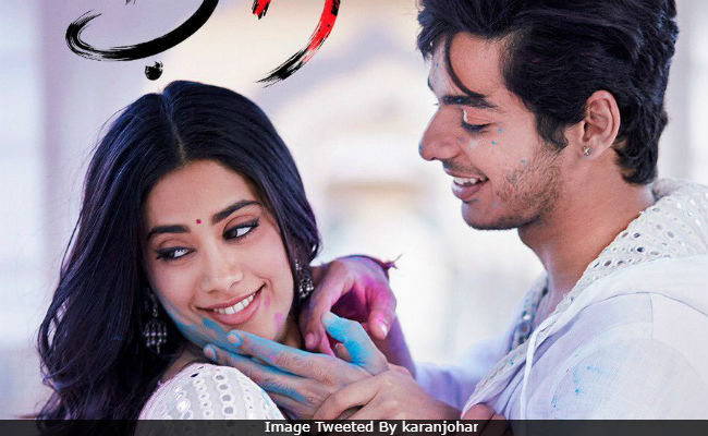 Dhadak New Poster: Janhvi Kapoor And Ishaan Khatter Are Here To Steal Our Hearts