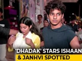 Video: Fans Couldn't Stop Taking Selfies With Ishaan & Janhvi