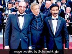Cannes 2018: डैशिंग लुक में धनुष, किया 'फकीर' को प्रमोट
