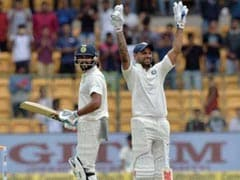 India vs Afghanistan Test : शिखर धवन और मुरली विजय के शतक, अफगानियों ने की वापसी