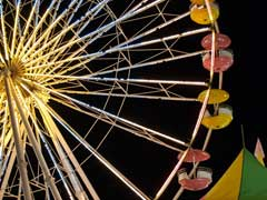 Woman Falls Off Ferris Wheel While Taking Selfie In UP, Dies