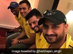 MS Dhoni, Harbhajan Singh, Suresh Raina Enjoy Dinner After Chennai Super Kings' Title Win