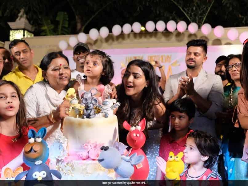 IPL 2018: MS Dhoni, Dwayne Bravo Celebrate Suresh Raina