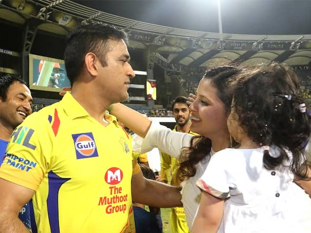 IPL 2018 Final: Wife Sakshi Ecstatic As MS Dhoni Guides Chennai Super Kings To Third Title