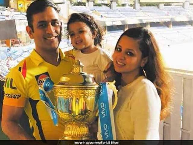 IPL 2018 Final: MS Dhoni Reveals Daughter Zivas Wish After Chennai Super Kings Title Victory