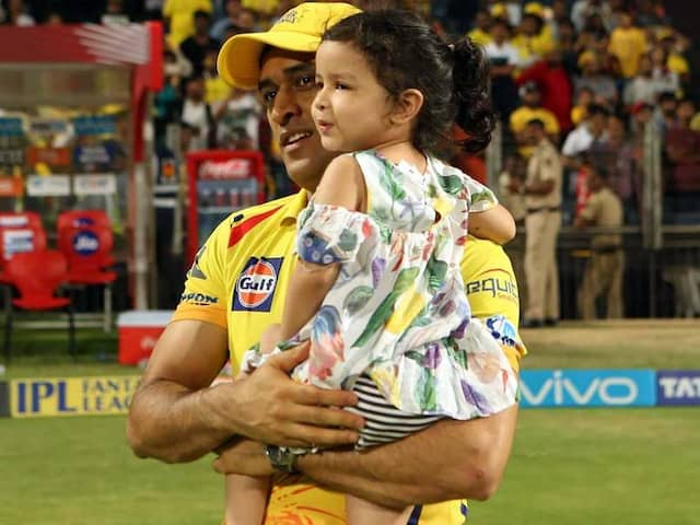 Watch: MS Dhonis Daughter Ziva Cheers For Mumbai Indians, Rohit Sharma Unable To Hide His Delight