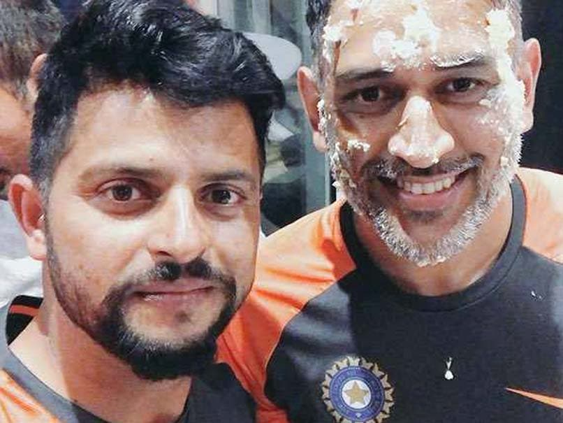 Suresh Raina gives birthday wish to Маhendra Singh Dhoni with unique photo on his 37th Birth day, Wishes are continued