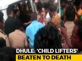 Video : 5 Men Mistaken For Child Kidnappers, Killed By Villagers In Maharashtra