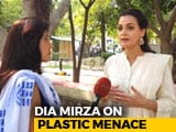 Video : Actor Dia Mirza Urges All To Say 'No' To Plastics
