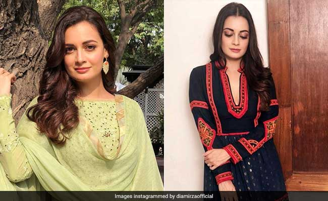 Dia Mirza Has Mastered The Art Of Ethnic Summer Dressing