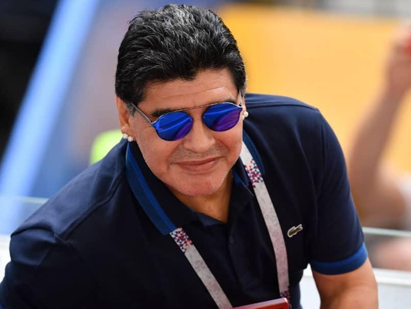 Diego Maradona Admitted To Hospital In Argentina