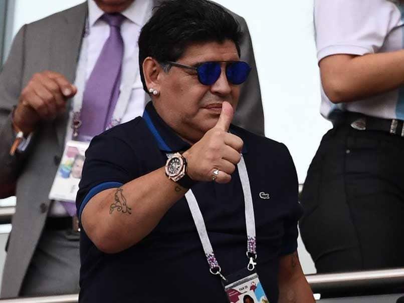 World Cup 2018: Diego Maradona Apologises Over Colombia-England Referee Slur