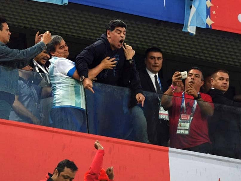 World Cup 2018: Angry Diego Maradona Offers Reward Over Death Report