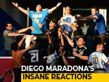 Video : FIFA World Cup 2018: Diego Maradona Hogs The Limelight As Argentina Survive