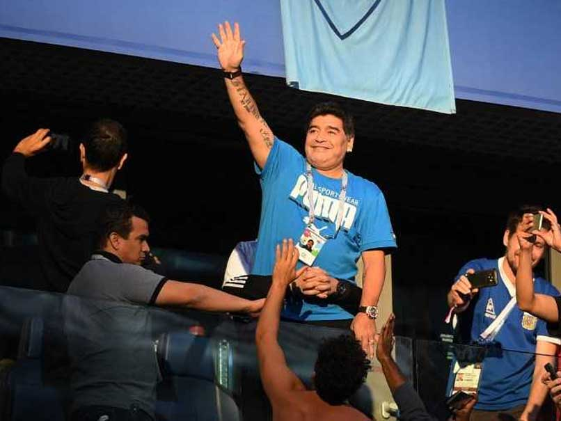 World Cup 2018: Diego Maradona Says He