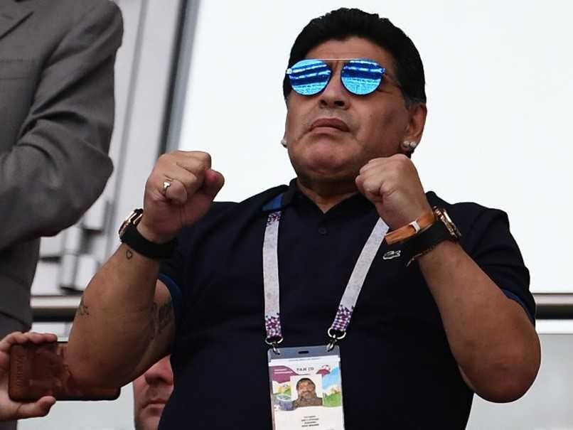 World Cup 2018: Diego Maradona says England committed