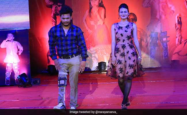 In Jaipur, Differently-Abled Models Take To Stage