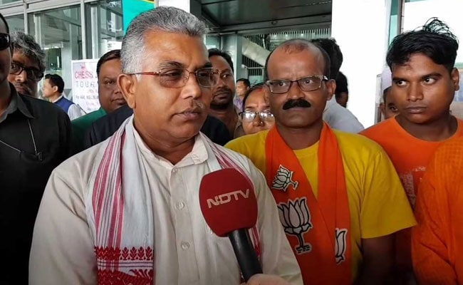 Bengal BJP Chief Dilip Ghosh Accused Of Violating Poll Code