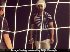 Diljit Dosanjh Posts Pic From Sets Of Hockey Star Sandeep Singh Biopic <i>Soorma</i>