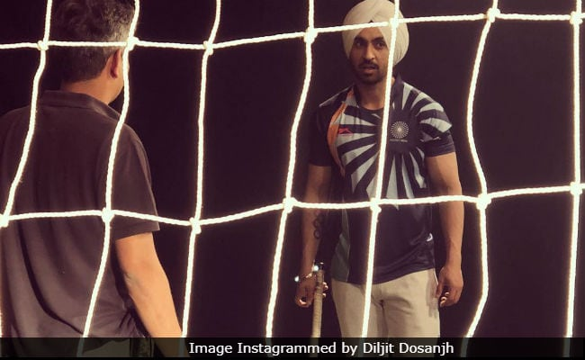 Diljit Dosanjh Posts Pic From Sets Of Hockey Star Sandeep Singh Biopic Soorma