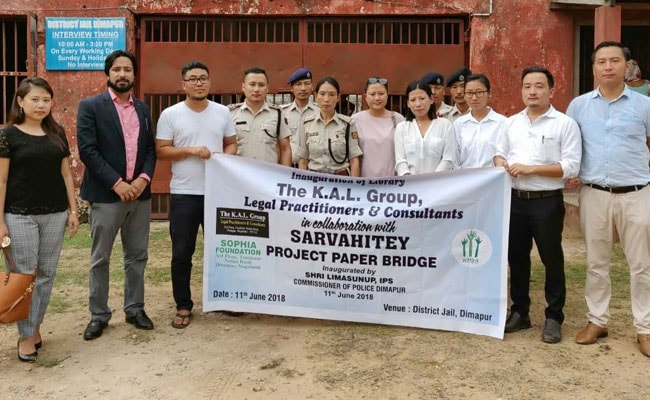 NGO Opens Library In Dimapur District Jail To Promote Digital Literacy, Reading Culture