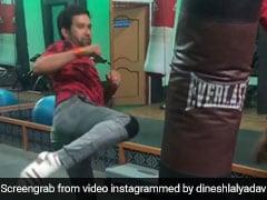 Video: टाइगर श्रॉफ को टक्कर देने को तैयार निरहुआ सुपरस्टार, बोले- कुकुर बिलार सावधान आ रहा है 'शेर-ए-हिन्दुस्तान'