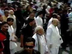 पीएम मोदी के साथ चल रही भीड़ में शामिल थे आईबी के 600 लोग, 50 शार्पशूटरों की थी नजर