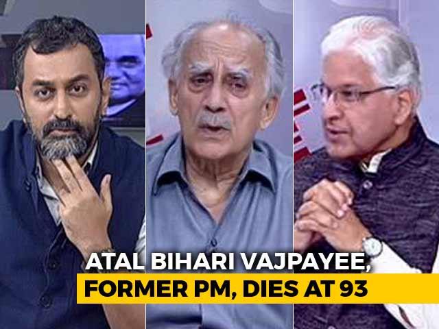 Video : Remembering Atal Bihari Vajpayee: The National Political Icon