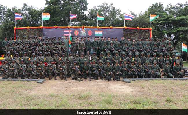 India-Thailand Army Contingents Train For Integrated