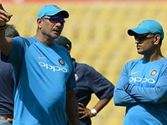Ravi Shastri Concerned About MS Dhoni's Fitness Ahead Of T20 World Cup