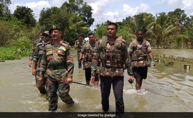 Kerala To Honour Defence Personnel For Rescue Operations