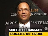 Video : SpiceJet Chairman Ajay Singh Donates Rs 1 Crore At #IndiaForKerala Telethon