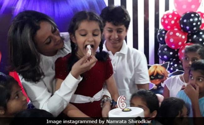 Namrata Shirodkar Shares Pics From Sitara's Birthday Party (Mahesh Babu Is MIA)