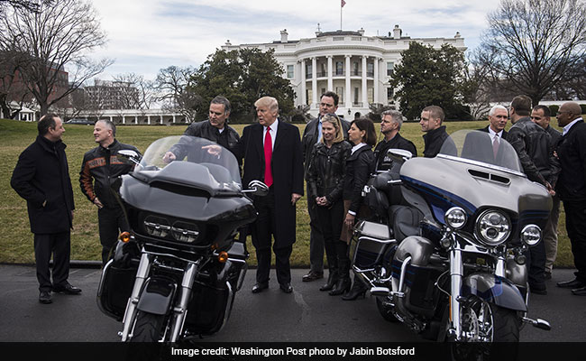 Harley Moving Work Overseas To Escape EU Tariffs; Trump Says 'Surprised'