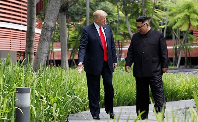From Twitter Hate To Second Date: Donald Trump And Kim Jong Un In Quotes