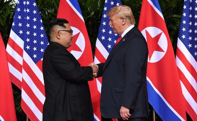 Image result for kim jong un and donald trump