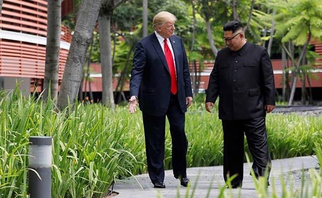 'Great Honour': In Bid For History, Trump Flatters Totalitarian Kim Jong