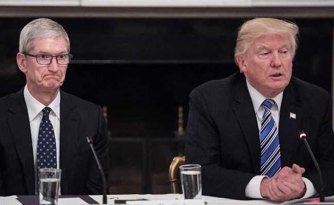 Tim Cook 'Made A Good Case' That Tariffs Could Hurt Apple: Donald Trump