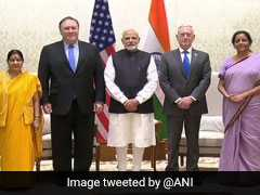Delhi 2+2 Dialogue Live Updates: Mike Pompeo, James Mattis Meet PM Modi