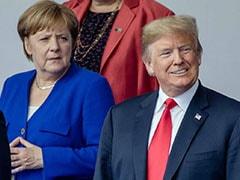 "Angela Merkel ""Was A Superstar Until..."" Says Trump In Latest Knock"