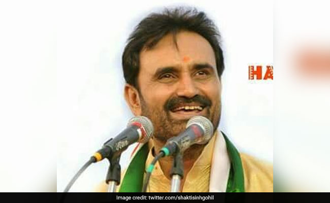 Shaktisinh Gohil Asks Congress To Relieve Him From Bihar In-Charge Post