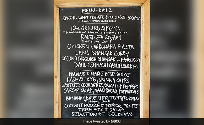 Team India's Lunch Menus At Lord's Have Everyone Asking The Same Question